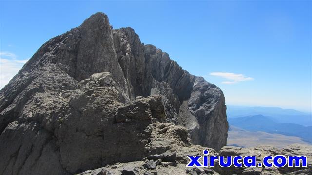 Pico de Añisclo desde el Cuello de Monte Perdido