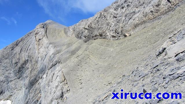 Monte Perdido desde el Cuello de Monte Perdido