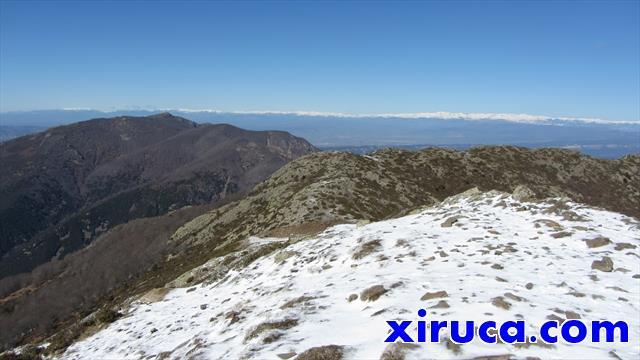Matagalls y Pirineos desde Turó de l'Home