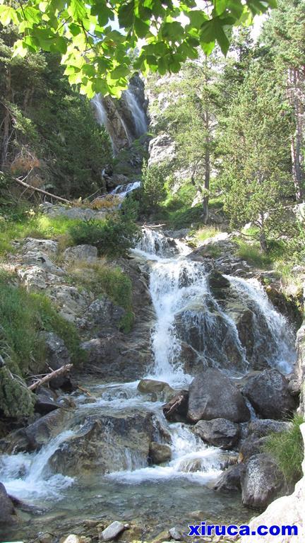 Cascada de Argualas