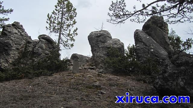 Bloques de piedra cerca de Roc Sobirà