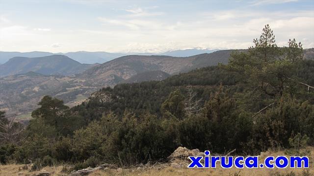 Fórnols y Pirineo de Lleida desde Roca de Santaló