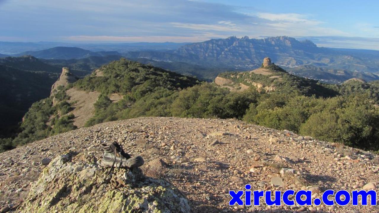 Xiruca, Roca Salvatge, Paller de Tot l'Any y Montserrat