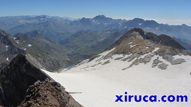 Glaciar d'Ossoue desde el Grand Vignemale