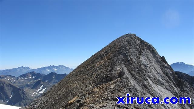Pico Central desde Col de Lady Lister
