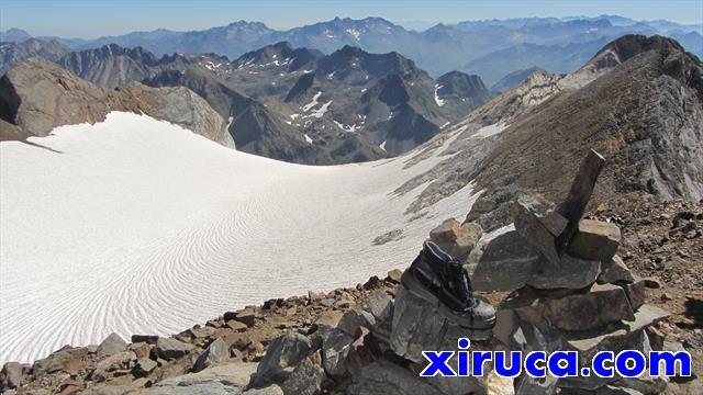Glaciar de Ossoue desde el Cerbillona