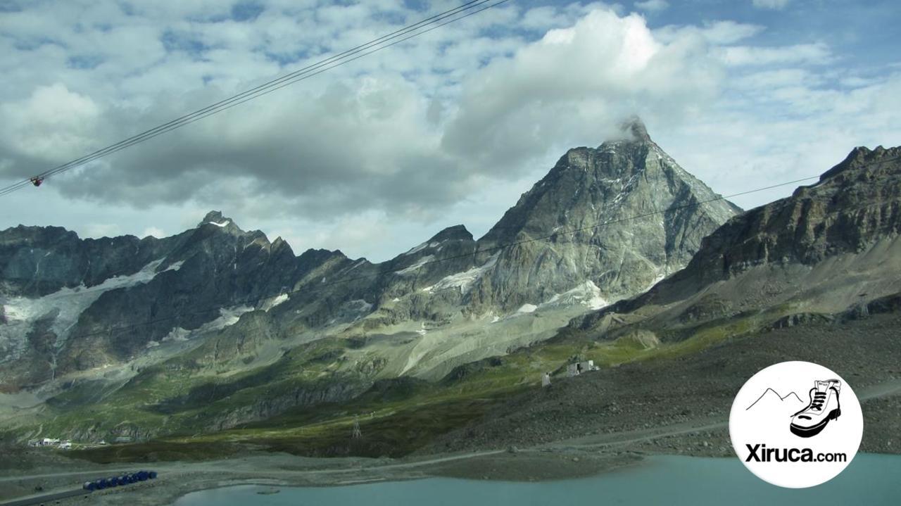 Cervino desde el teleférico a Plateau Rosa