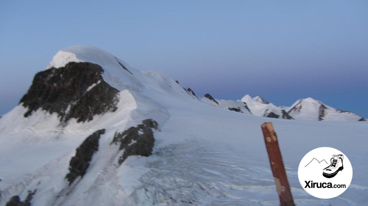 Breithorn desde el Klein Matterhorn