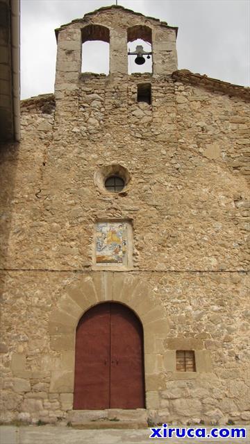 Fachada del Santuario de la Mare de Déu de Corbera