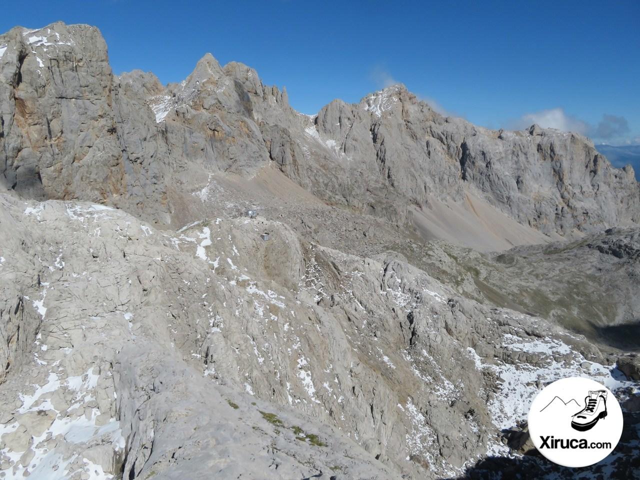Torre de los Horcados Rojos, Pico de Santa Ana y Peña Vieja