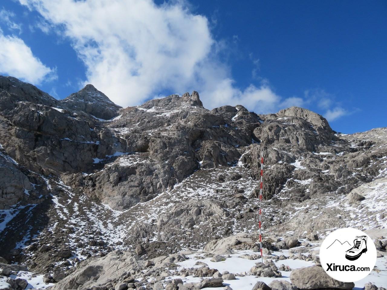 Pico Tesorero desde Cabaña Verónica