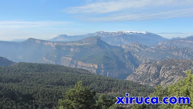 Serra de Busa y Port del Comte desde Serra dels Tossals