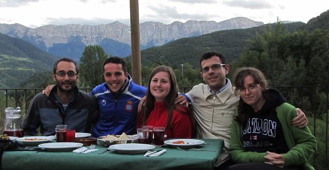 Cena en Can Ribals (Xirucada)
