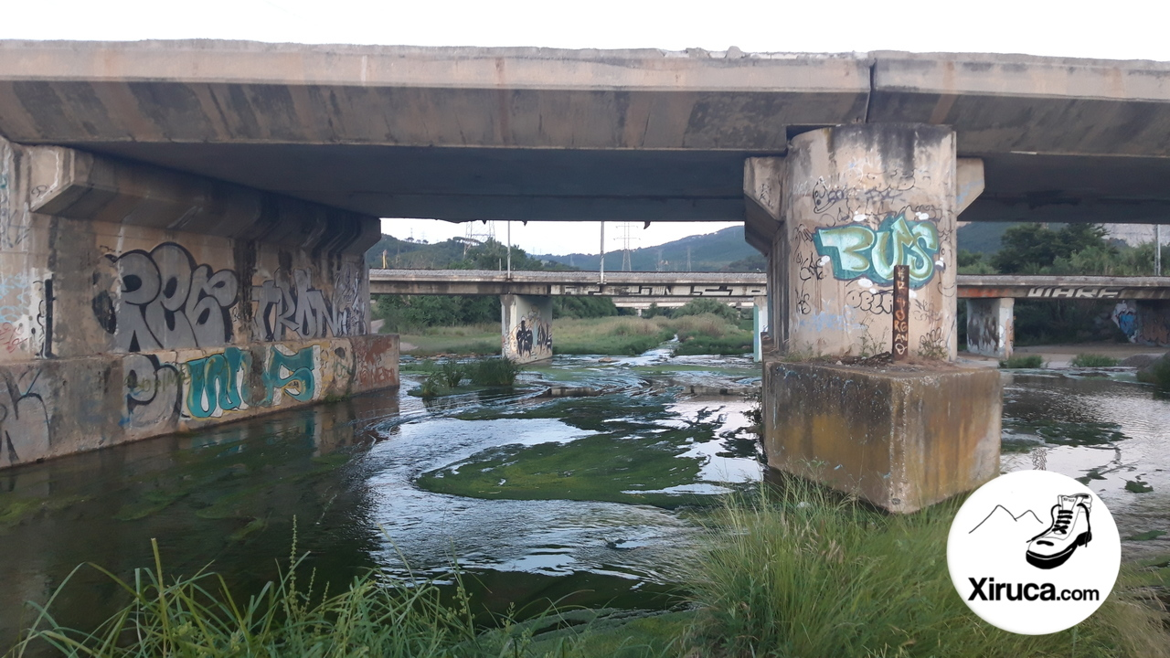 Puente en la Riera de Caldes
