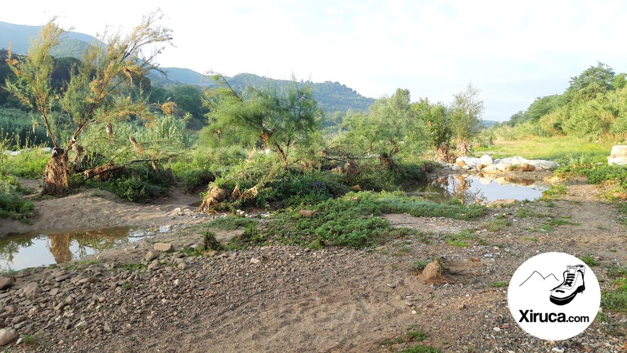 Playa fluvial de La Llagosta