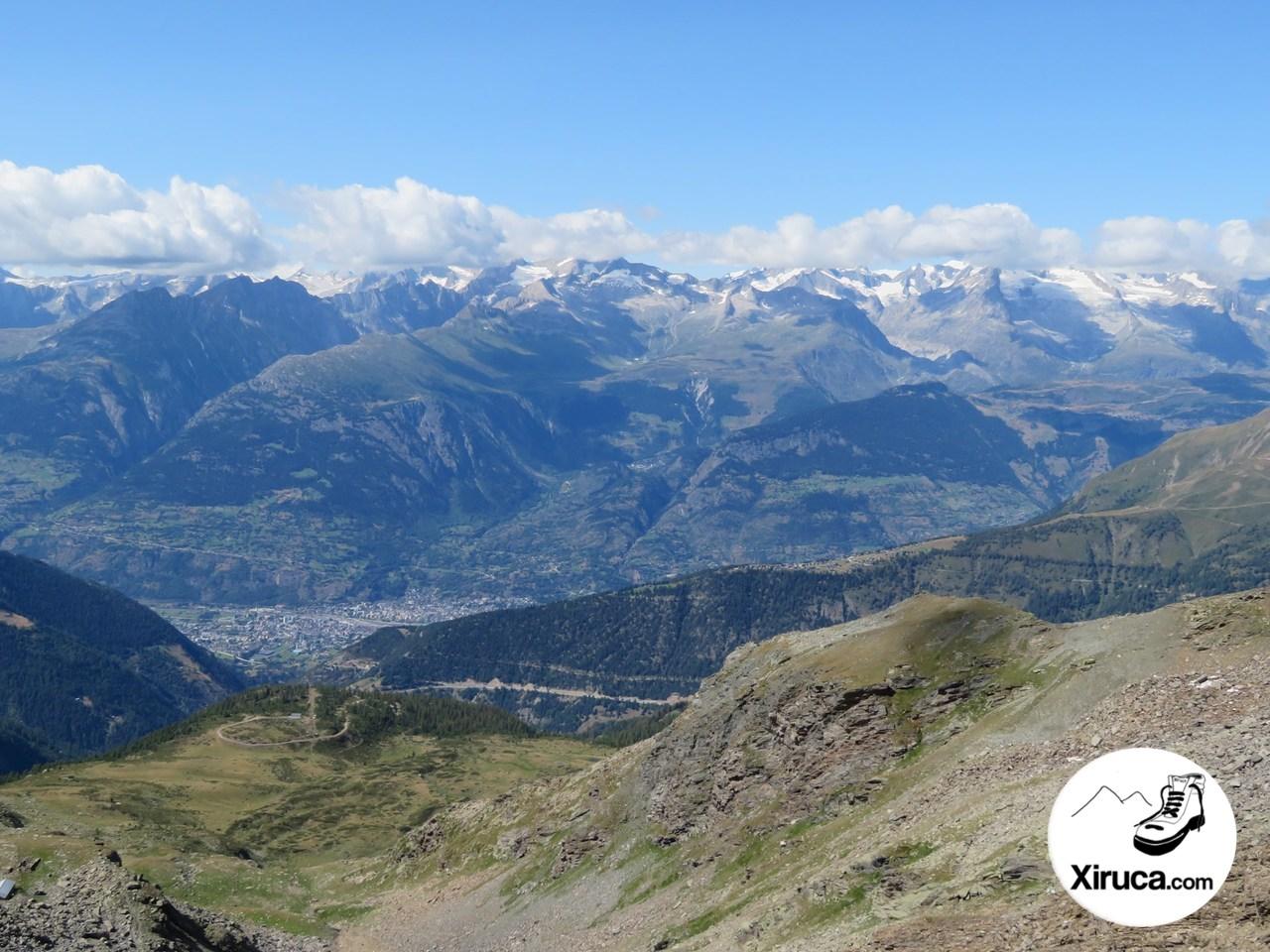 Valle de Brig desde el Madelhorn