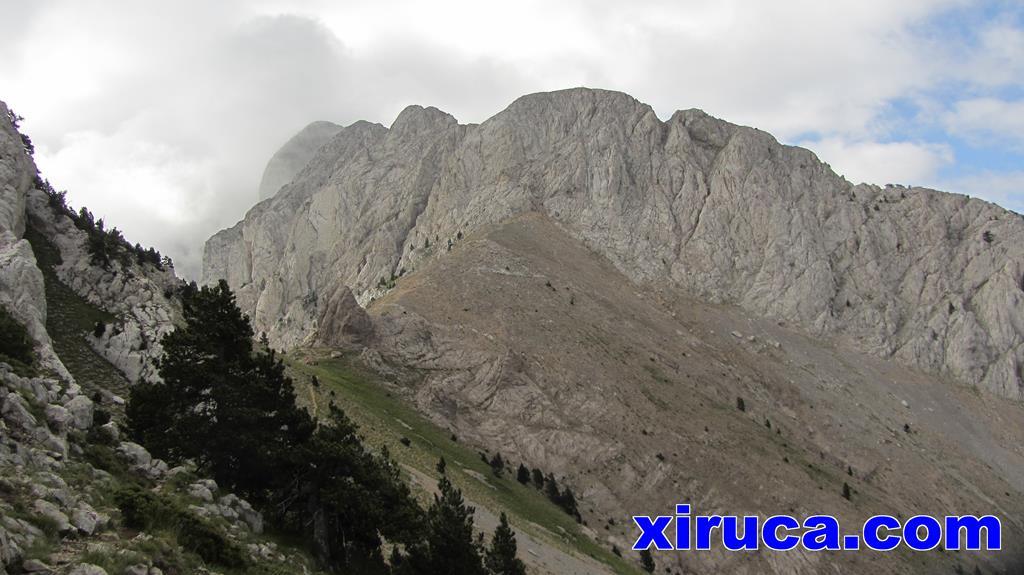 Coll de Verdet y Pedraforca