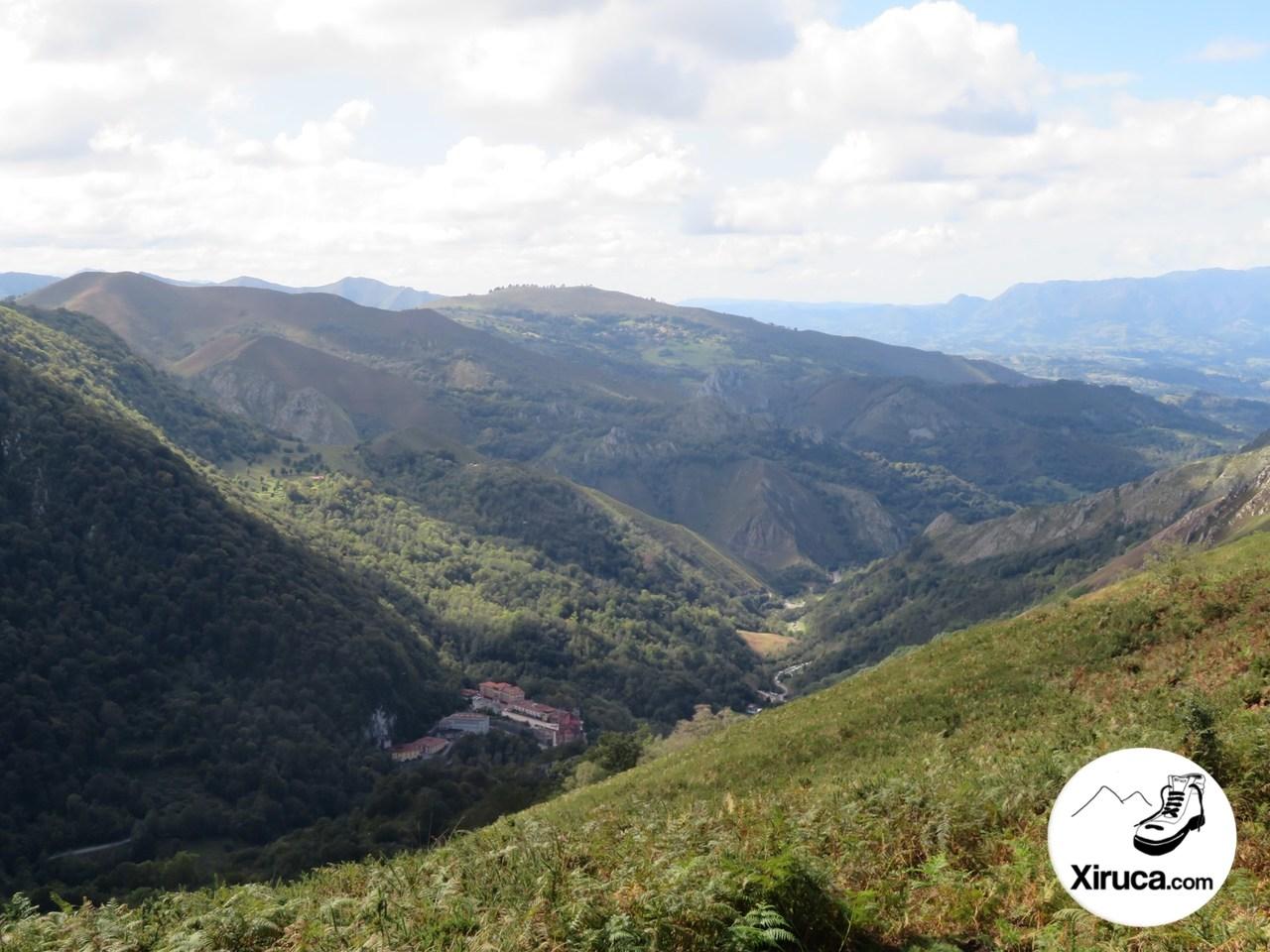Covadonga desde Sierra de La Estaca