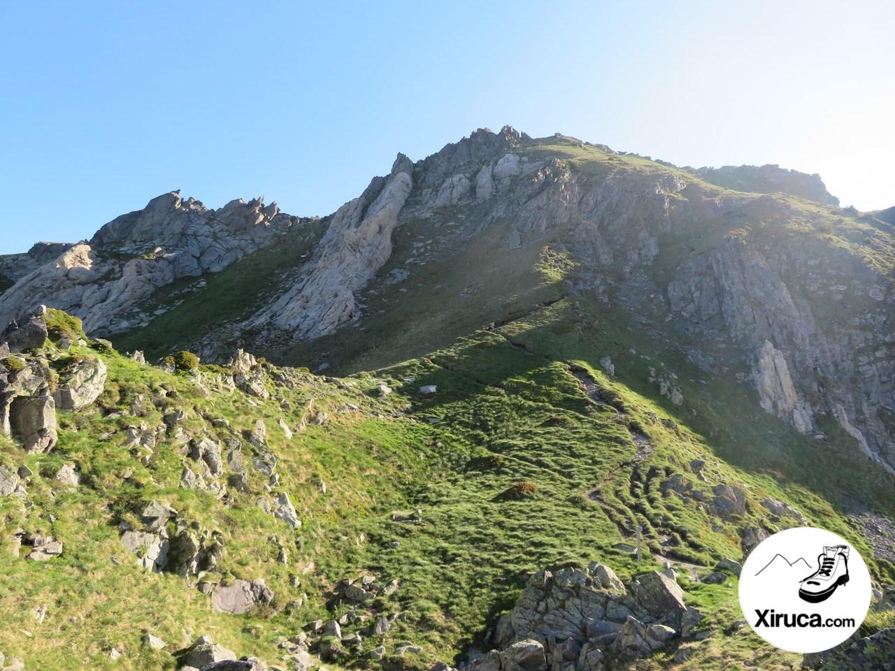 Roc Blanc desde el Col de Laurenti
