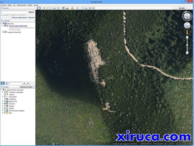 Turó de les Maleses en Google Earth