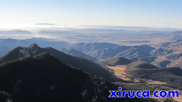 Montserrat, Picamill y La Baells desde Sobrepuny de Baix