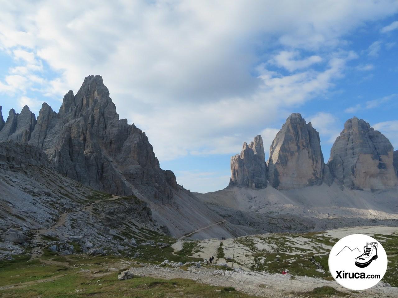 Monte Paterno y Tre Cime di Lavaredo