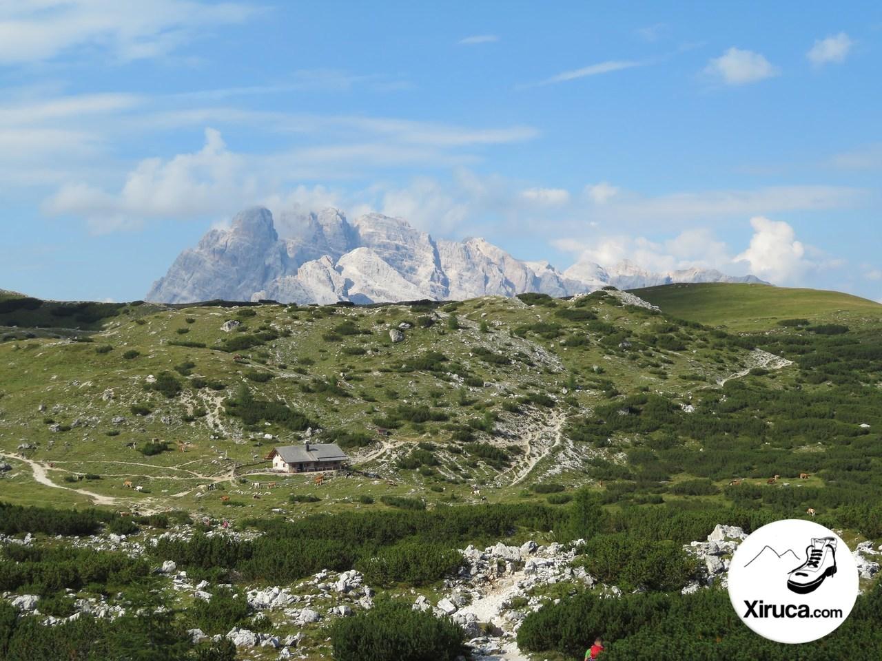 Monte Cristallo y Langalm