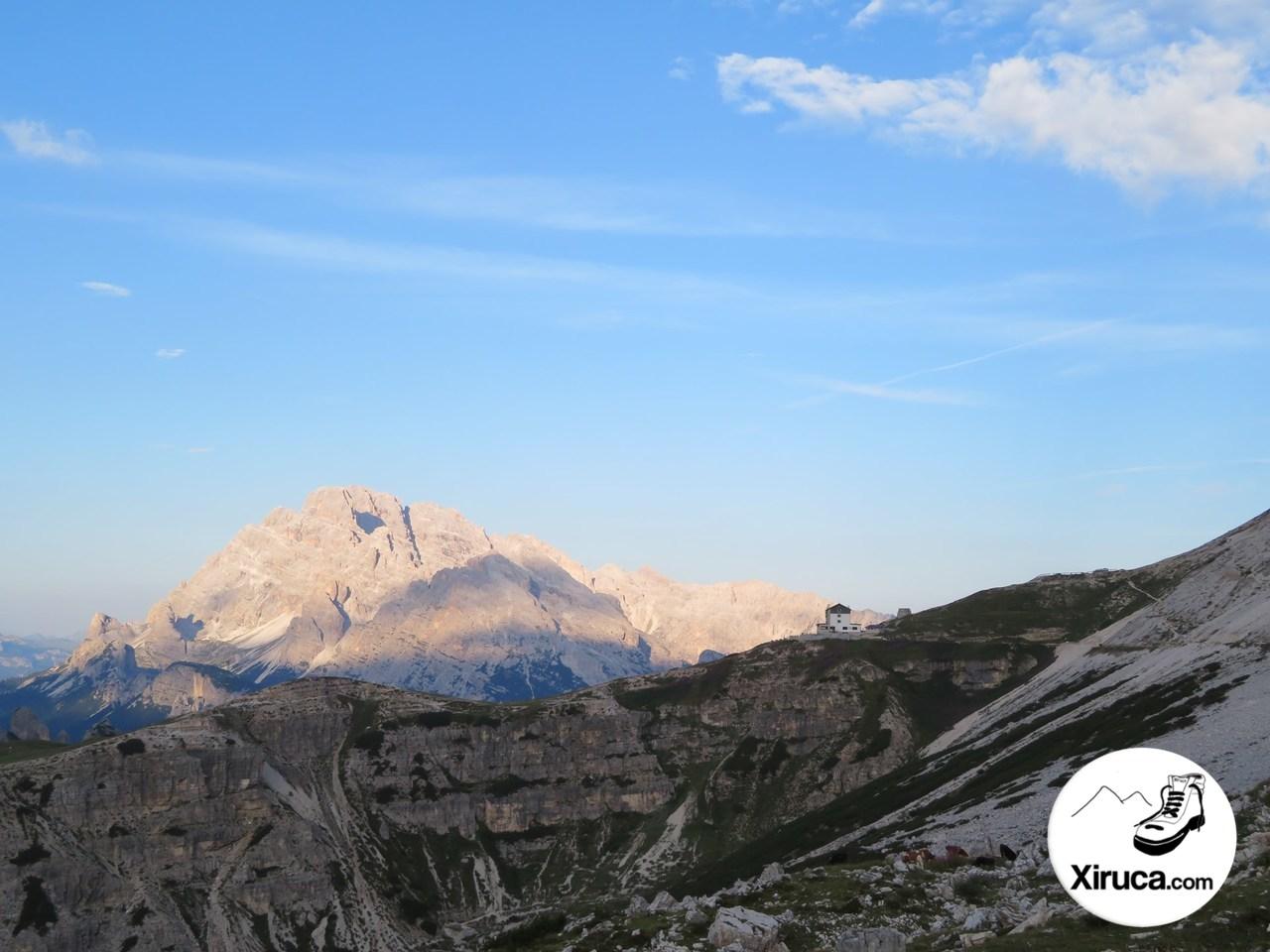 Monte Cristallo y Rifugio Auronzo