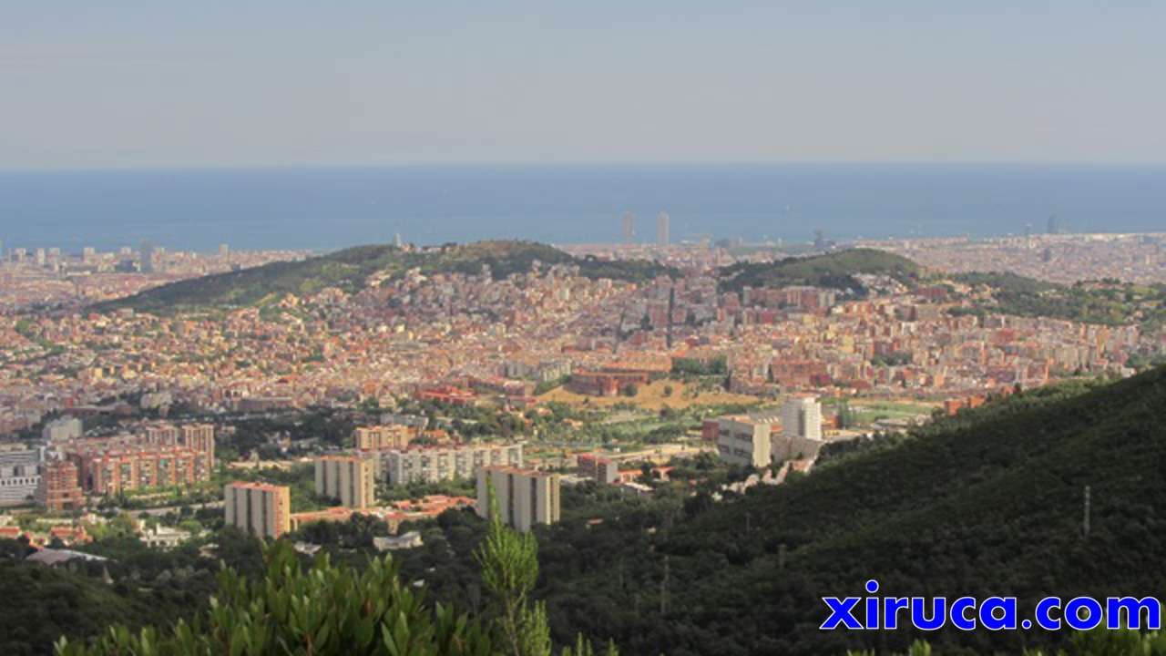 Barcelona desde el Turó de la Magarola