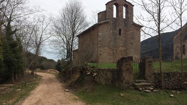 Ermita de Santa Maria de Liors, cerca de Arbucies