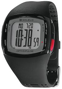 Reloj deportivo Soleus con pulsometro óptico