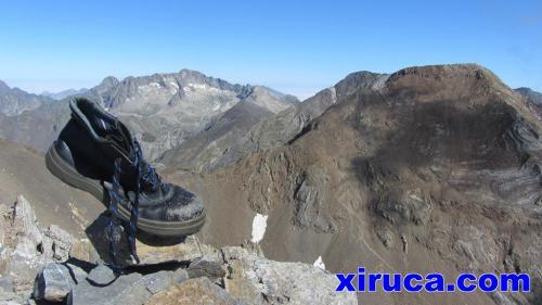 Balaitús, Frondellas y Garmo Negro desde Pico de las Argualas