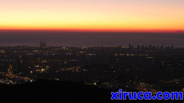 Barcelona desde el Turó de Magarola