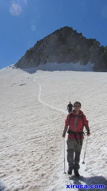 Descenso por Glaciar de Aneto