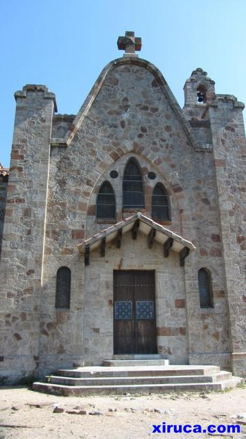 Fachada de Sant Salvador de Terrades