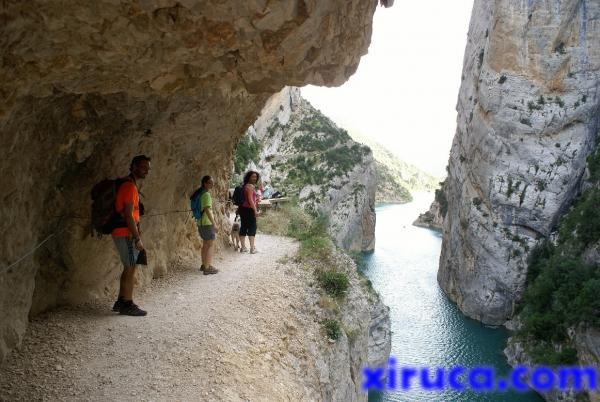 Camino del Congost de Mont Rebei