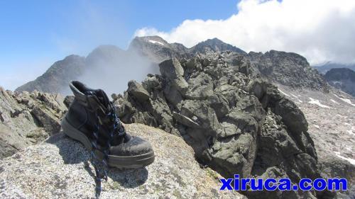 Xiruca en el Pico de Alba