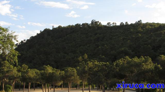 Puig d'Olorda desde la Santa Creu d'Olorda