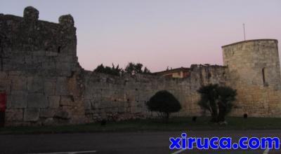 Muralla medieval en Olèrdola