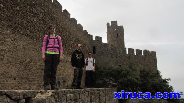 Lateral del Castell de Requesens