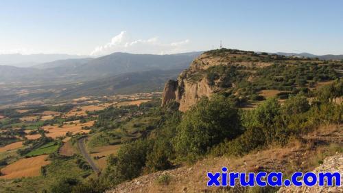 Roca Roja desde Sant Miquel