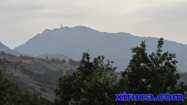 Torre de Madeloc desde Coll de Banyuls