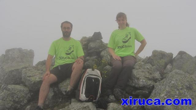 Camisetas de Xiruca en el Pic de Sallafort