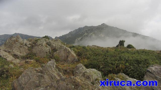 Pic de Sallafort desde Coll d'Eres