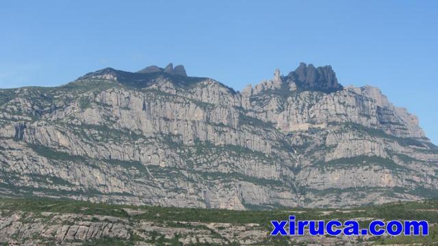 Montserrat desde Sant Salvador de Les Espases