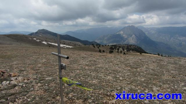 Cap Llitzet y Pedraforca desde la Creu de Ferro
