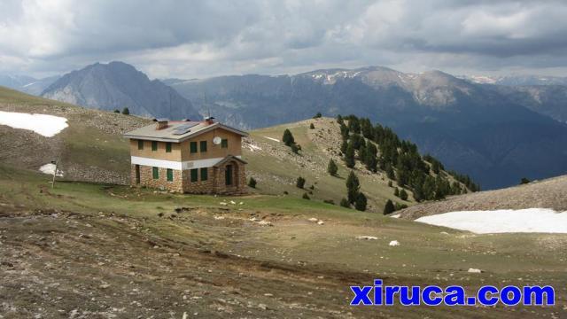 Refugio Delgado Úbeda o de la Serra d'Ensija