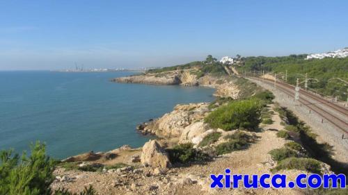 Punta Llarga y Puerto de Vilanova