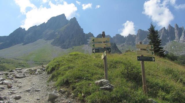 Indicaciones al Col du Bonhomme