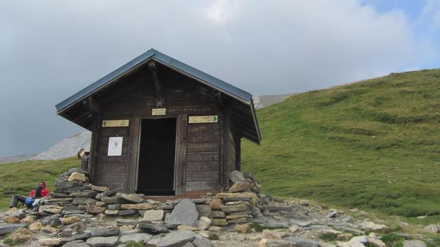 Cabaña en el Col du Bonhomme